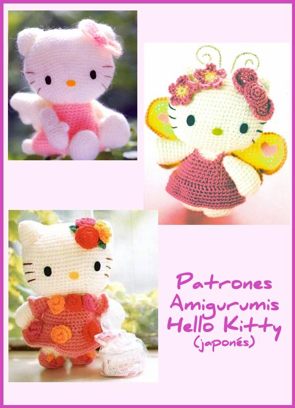 Patrones Amigurumis Hello Kitty