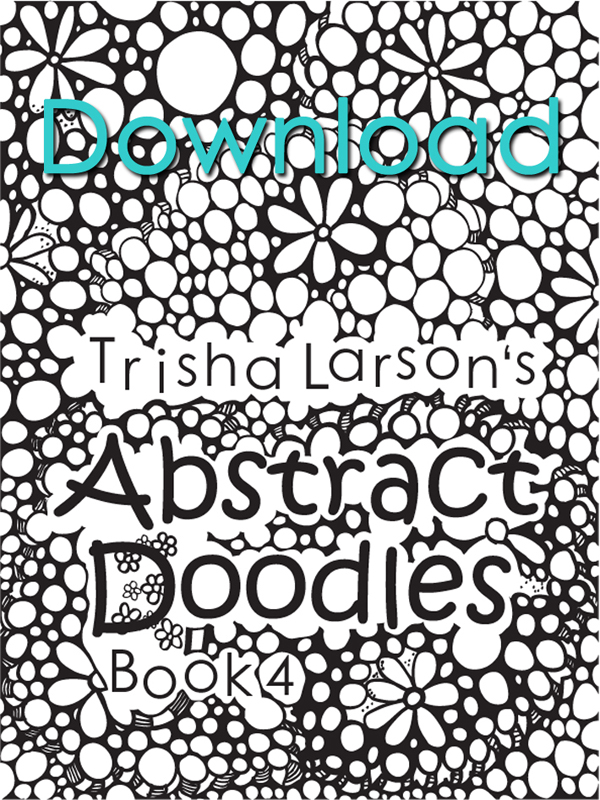 Abstract Doodles Coloring Book 4 (All Abstract)