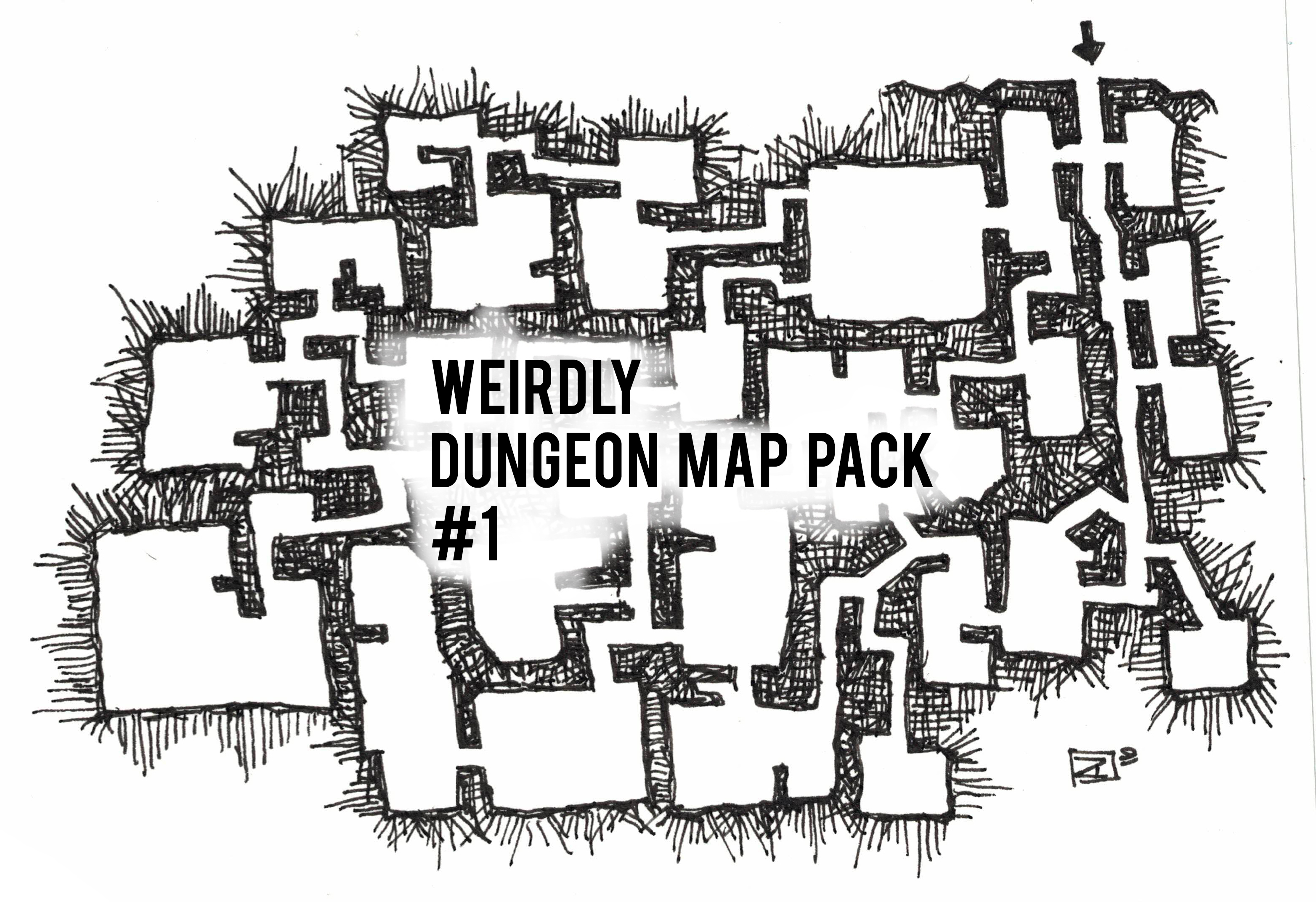 Weirdly Dungeon Map Pack #1 - Payhip