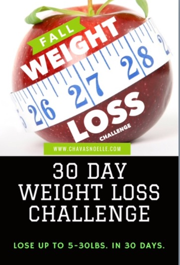 30 Day Fall Weight Loss Challenge (BOOK ONLY) - Payhip