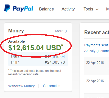 Paypal Payhip Money System - My Unique