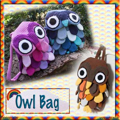 Owl Bag Crochet Pattern
