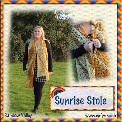 c000950b85651 Sunrise Stole Crochet Pattern - Payhip