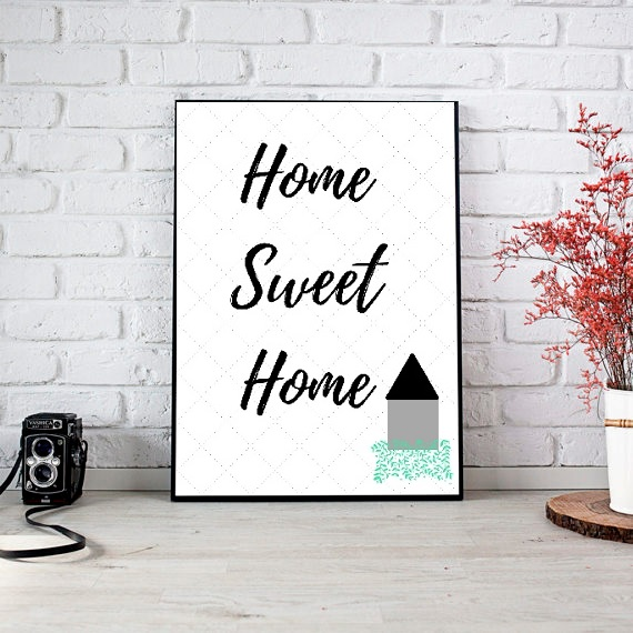 picture about Home Sweet Home Printable known as Residence Lovable Residence Print, Printable Artwork, Printable Decor, Quick Down load Electronic Print, Motivational Artwork, Decor, Wall Artwork Prints