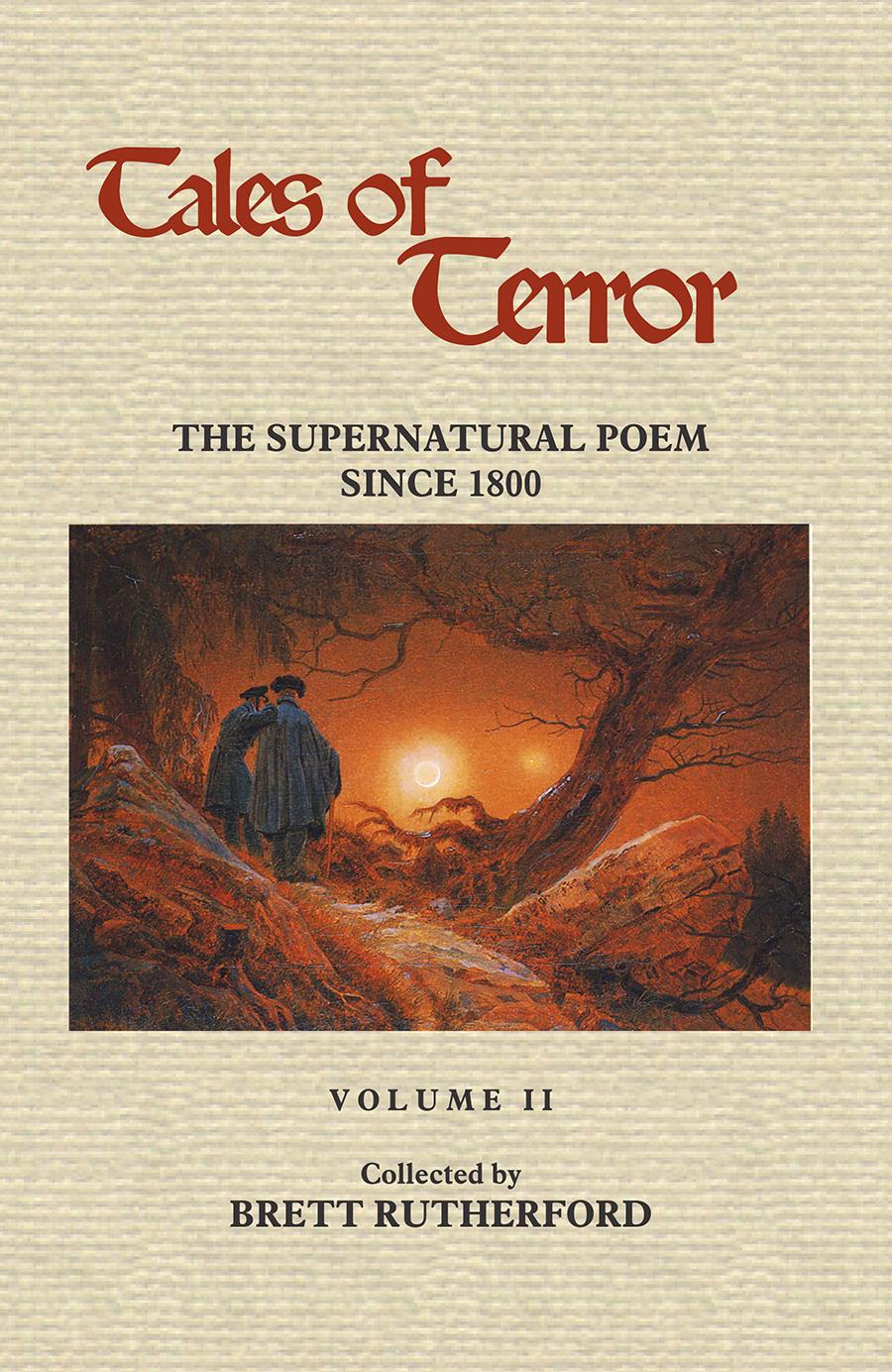 Tales Of Terror: The Supernatural Poem Since 1800, Volume 2 (pdf)