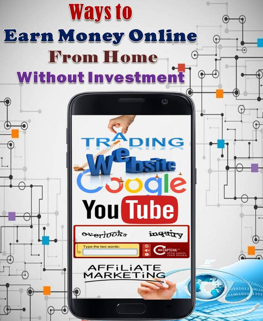 how to get earn money online without investment