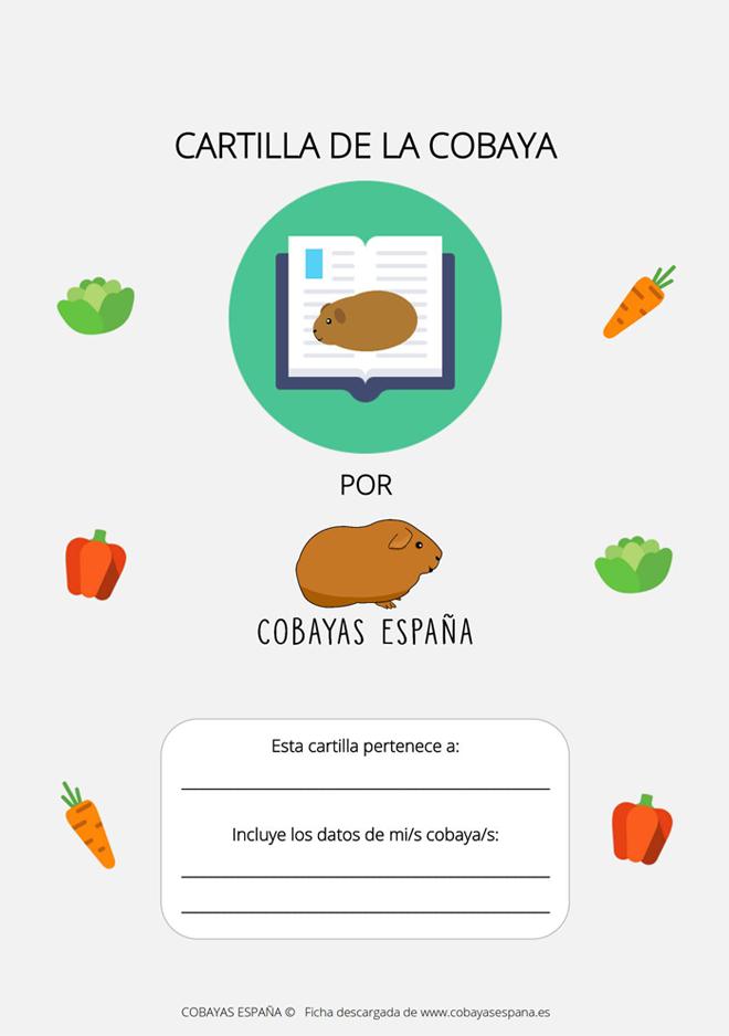 Cartilla de la cobaya - Informacion de cobayas ...