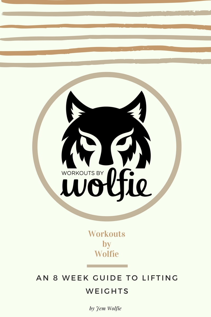 Workouts By Wolfie Weight Training Guide