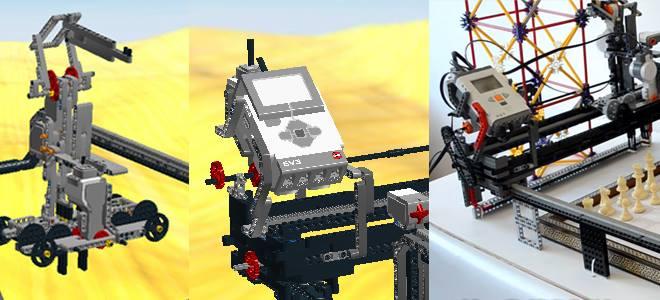 Ev3 Nxt Lego Chess Playing Robot Charlie Ldd Building