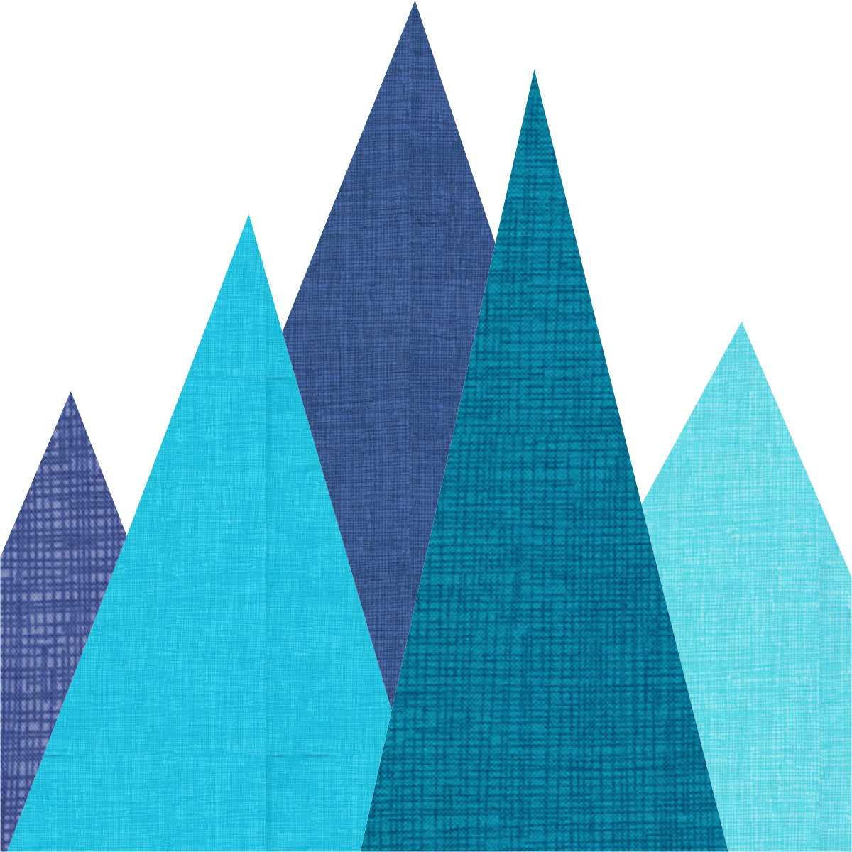 Winter Mountains Paper Pieced Pattern Payhip