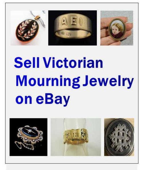 sell mourning jewelry on ebay