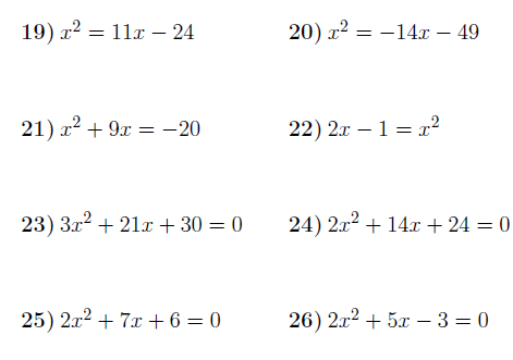 Solving Quadratic Equations By Factorising 2 Worksheet (with Solutions) -  Payhip