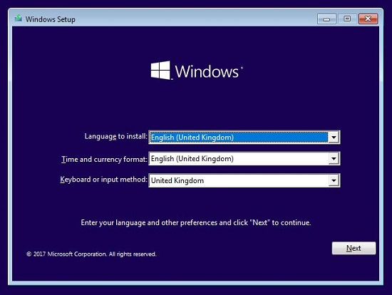 How to install Microsoft Windows using Easy2Boot