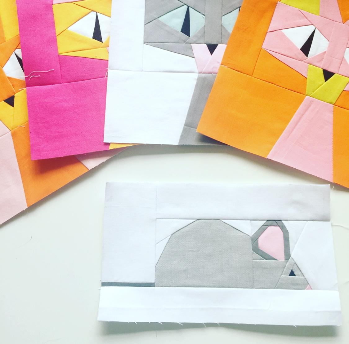 Mr Squeak Foundation Paper Piecing Pattern Payhip