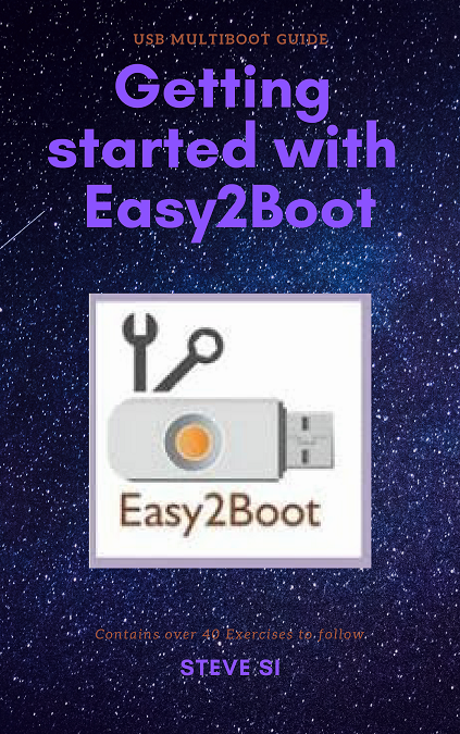 How to make a multiboot USB drive using Easy2Boot
