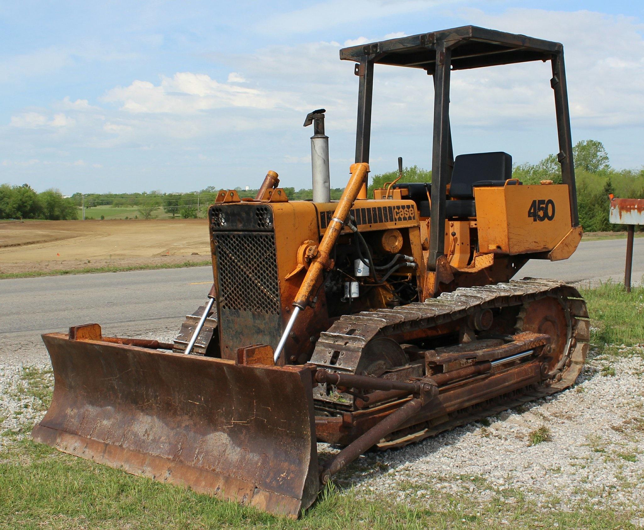 Case 450 Crawler Dozer Service Repair Manual