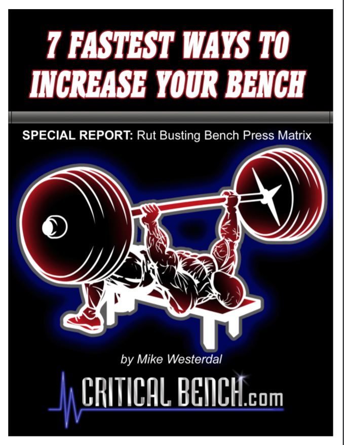 How To Increase Bench Press + Full Chest Workout (3 Ebooks