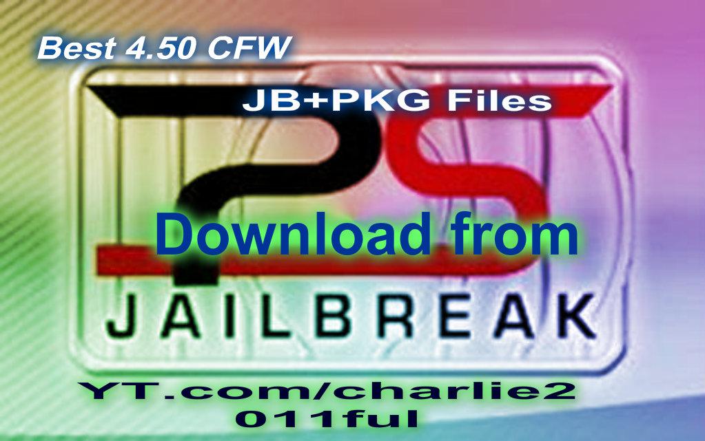Best 4 50CFW PS3 JB+PKG Files click download