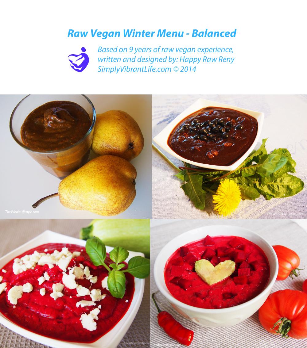 raw vegan diet in winter
