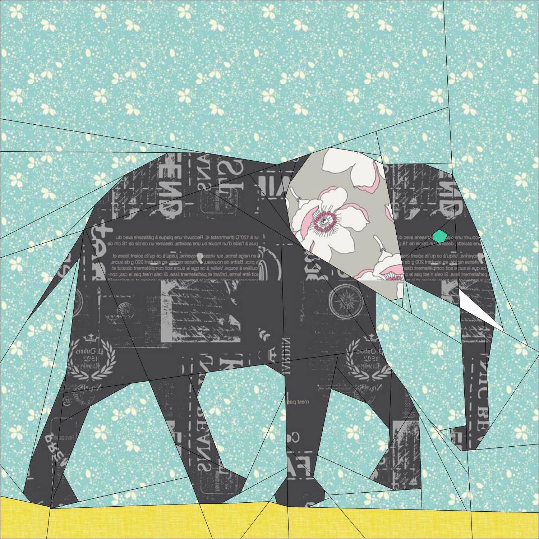 Пух, бумажный слон магазин открыток