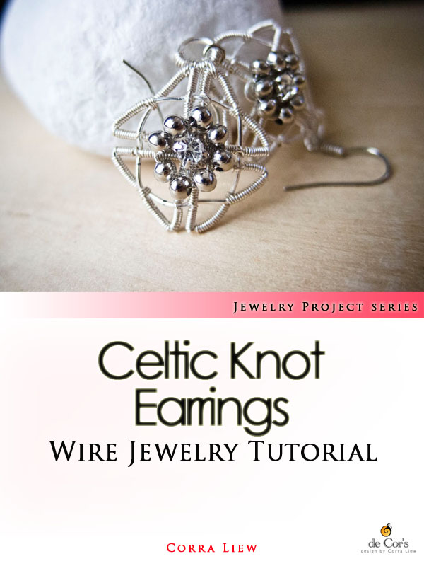 Wire Wrapped Jewelry Tutorial - Celtic Knot Earrings, Wire Jewelry ...