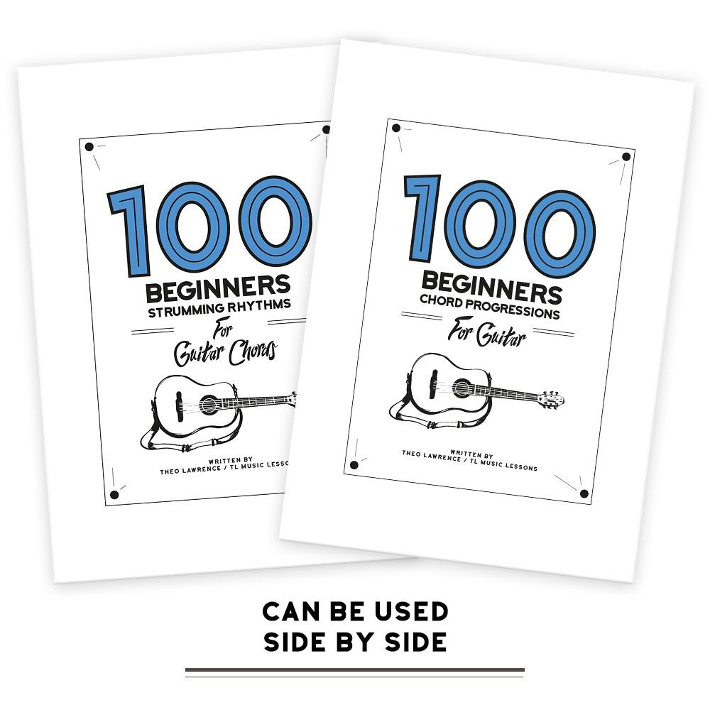 Ebook Bundle 100 Beginners Chord Progressions For Guitar Ebook