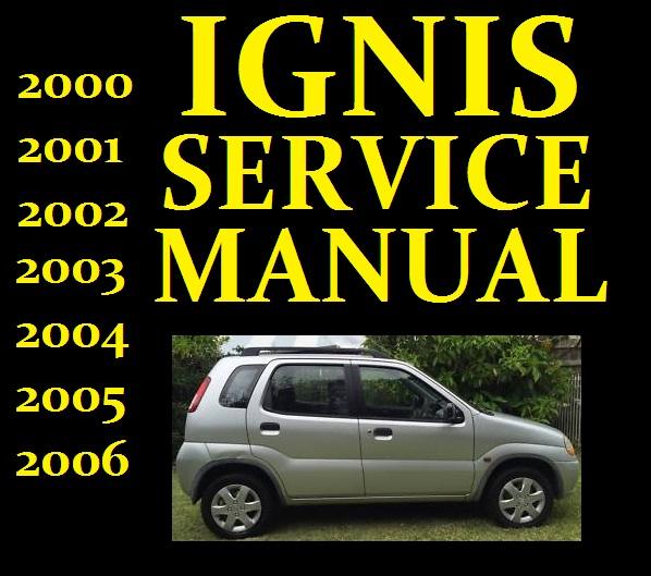 Suzuki Ignis Rg413 Rg415 Service Repair Manuals Wiring Diagram Manual Full Hd Quality Version Diagram Manual Cause And Effect Diagram Jaimemaregion Fr