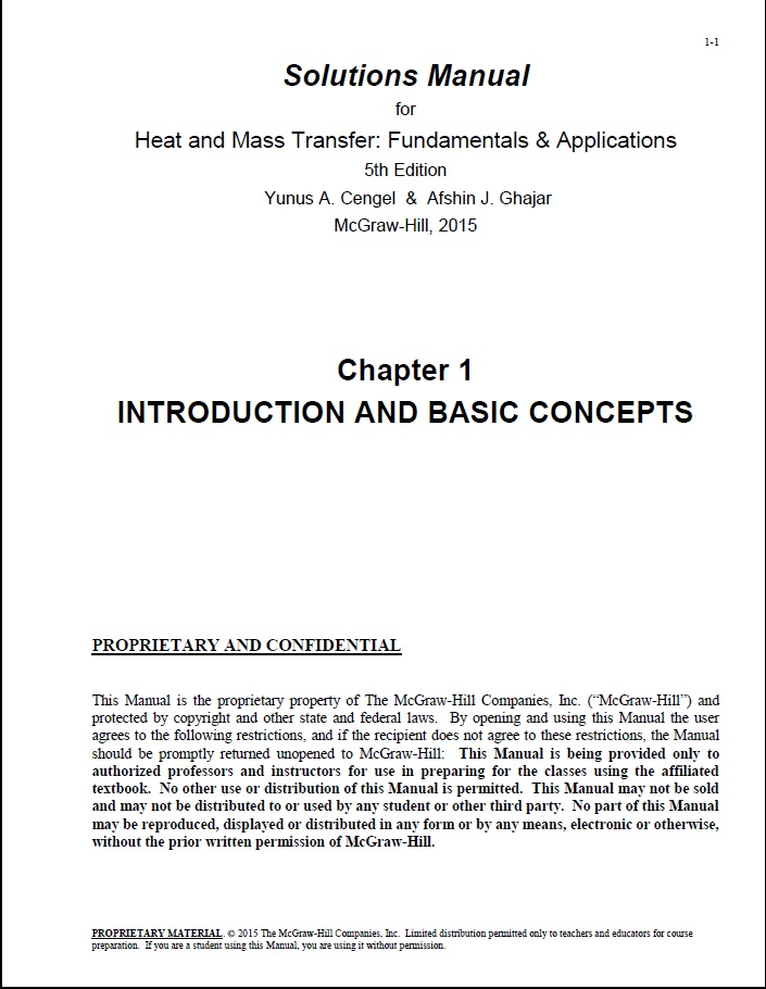 solution manual of heat and mass transfer fundamentals and rh payhip com heat transfer solution manual heat transfer solution manual mills